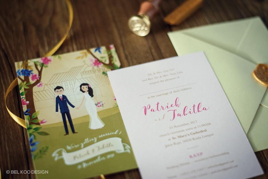 P t wedding bel koo graphic web designer malaysia ipoh wedding invitation design malaysia wedding card design malaysia wedding design malaysia stopboris Images