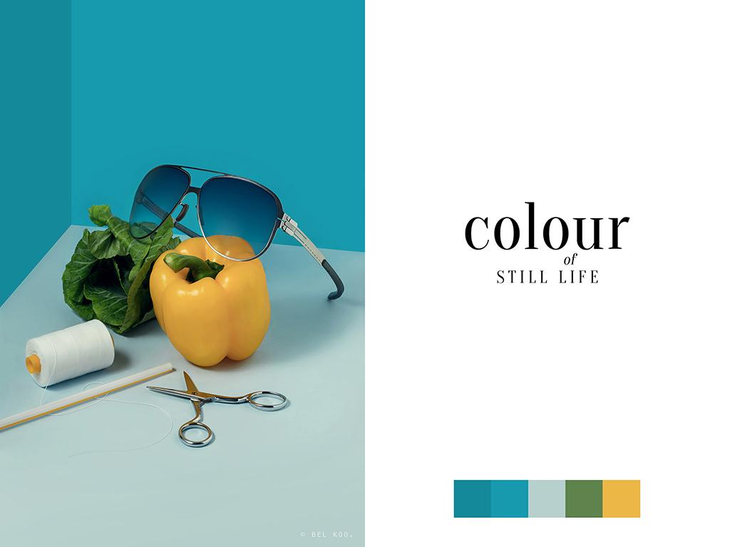 Colour of Still Life – Bel Koo – Professional Logo Designer